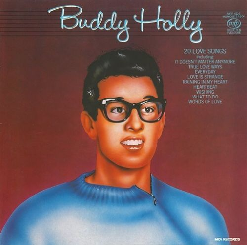 BUDDY HOLLY 20 Love Songs Vinyl Record LP MFP 1981